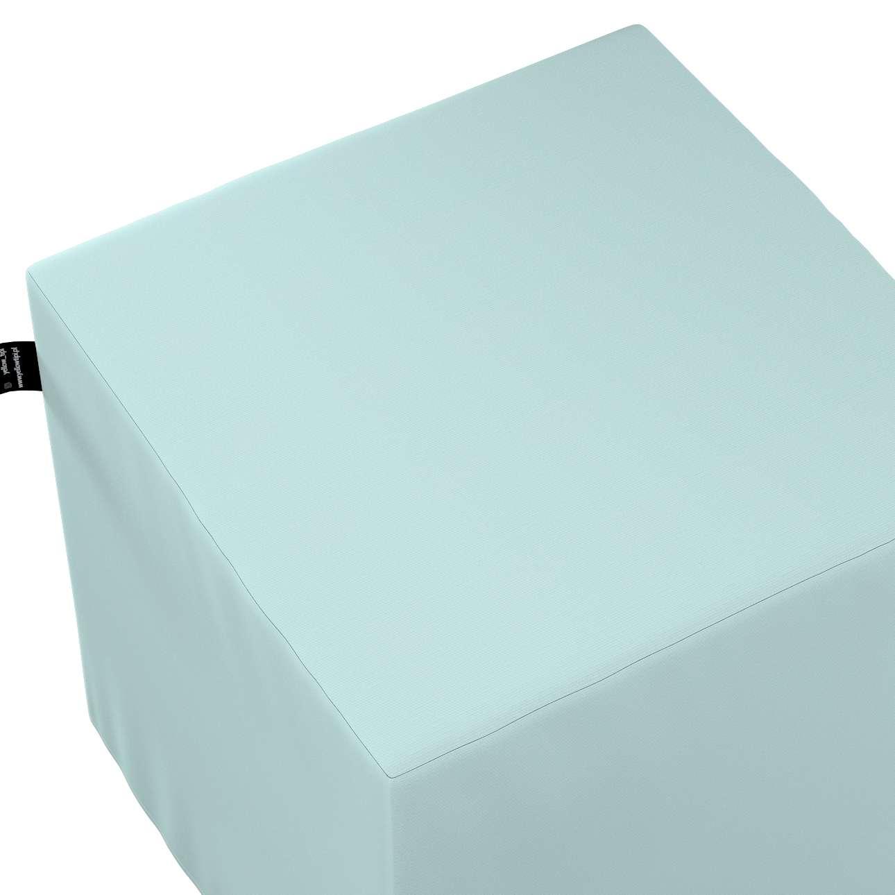Puf kostka Nano w kolekcji Cotton Story, tkanina: 702-10
