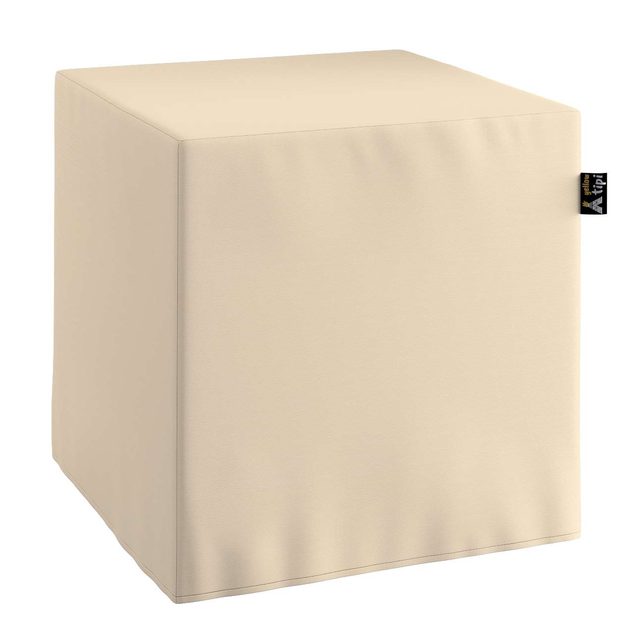 Nano cube pouf in collection Cotton Story, fabric: 702-29
