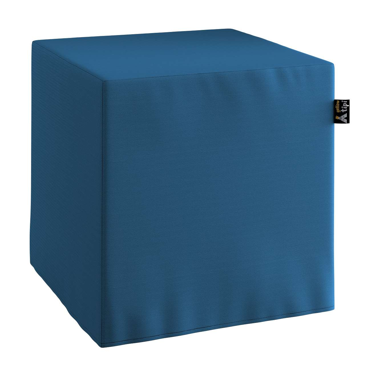 Nano cube pouf in collection Cotton Story, fabric: 702-30