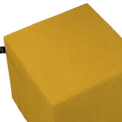 Puf kostka Nano 705-04 musztardowy szenil Kolekcja Lollipop
