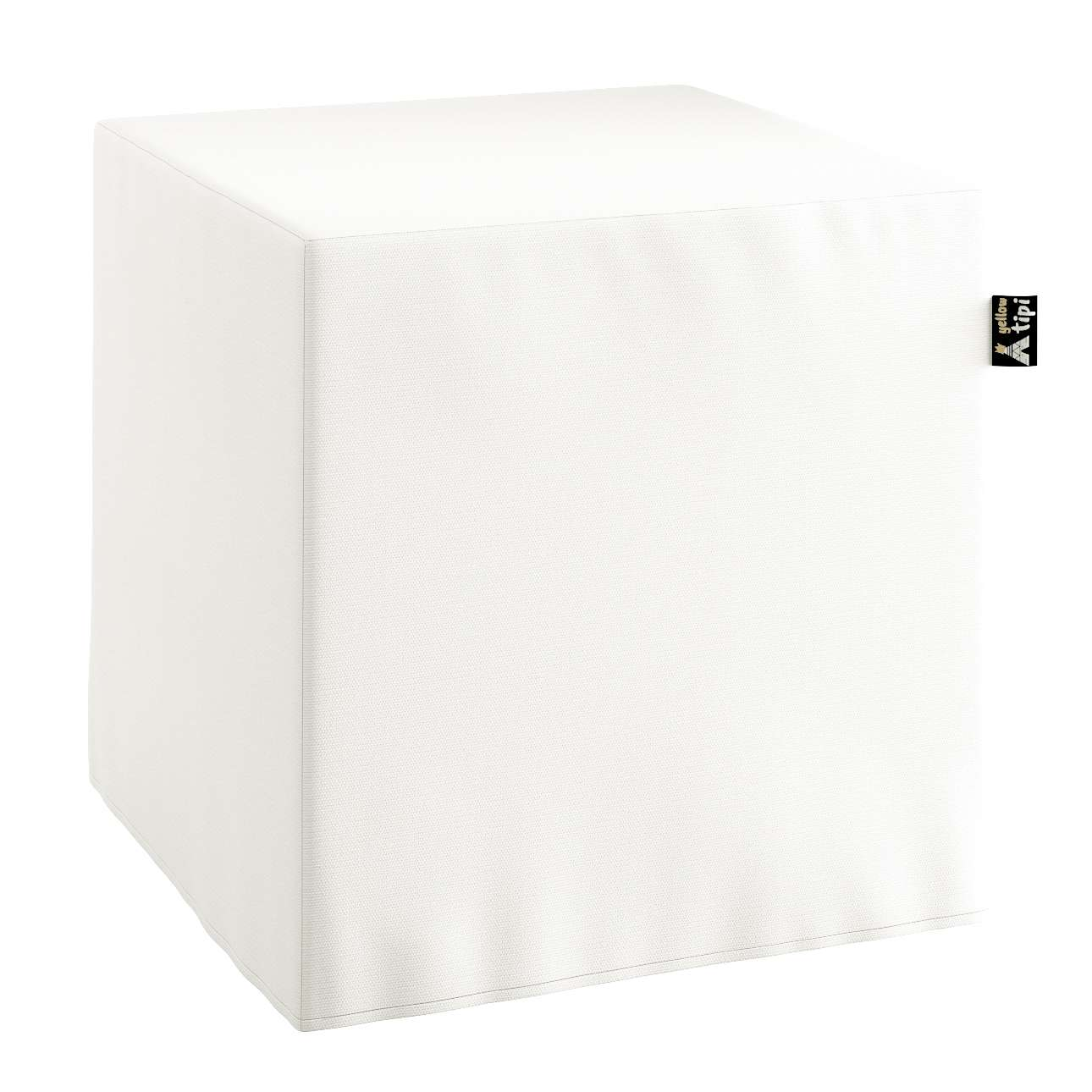 Nano cube pouf in collection Cotton Story, fabric: 702-34
