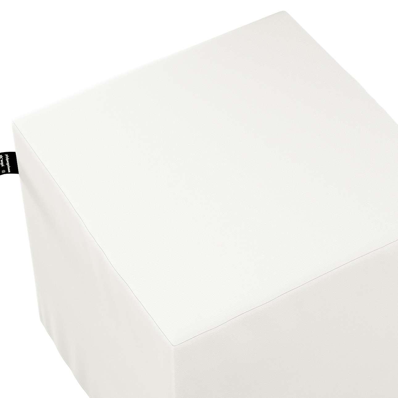 Puf kostka Nano w kolekcji Cotton Story, tkanina: 702-34