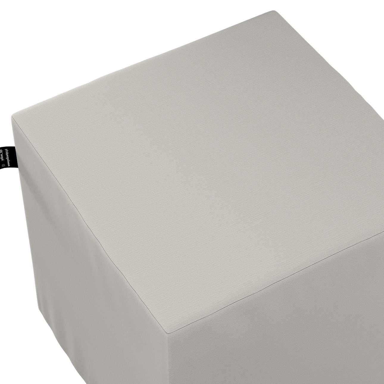 Puf kostka Nano w kolekcji Cotton Story, tkanina: 702-31