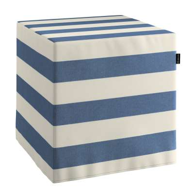 Pufa kostka w kolekcji Quadro, tkanina: 142-70