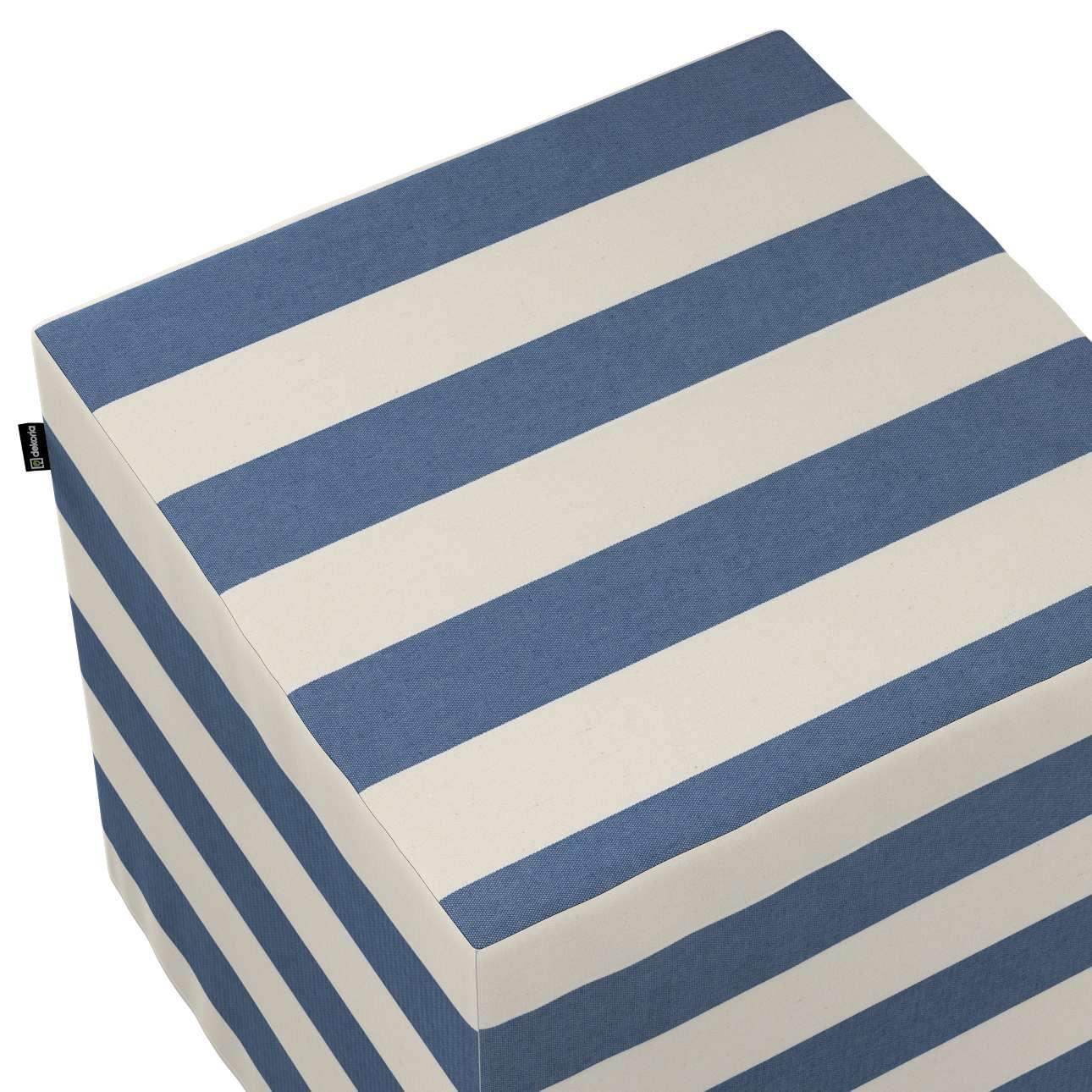 Sitzwürfel von der Kollektion Quadro, Stoff: 142-70