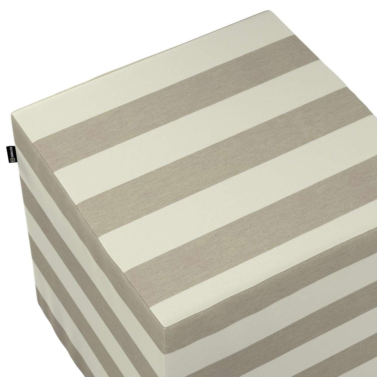 Pufa kostka w kolekcji Quadro, tkanina: 142-73