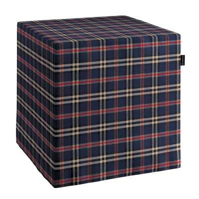 Pufa kostka w kolekcji Bristol, tkanina: 142-68