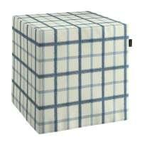 Hard cube pouffe