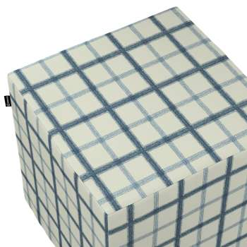 Pufa kostka w kolekcji Avinon, tkanina: 131-66