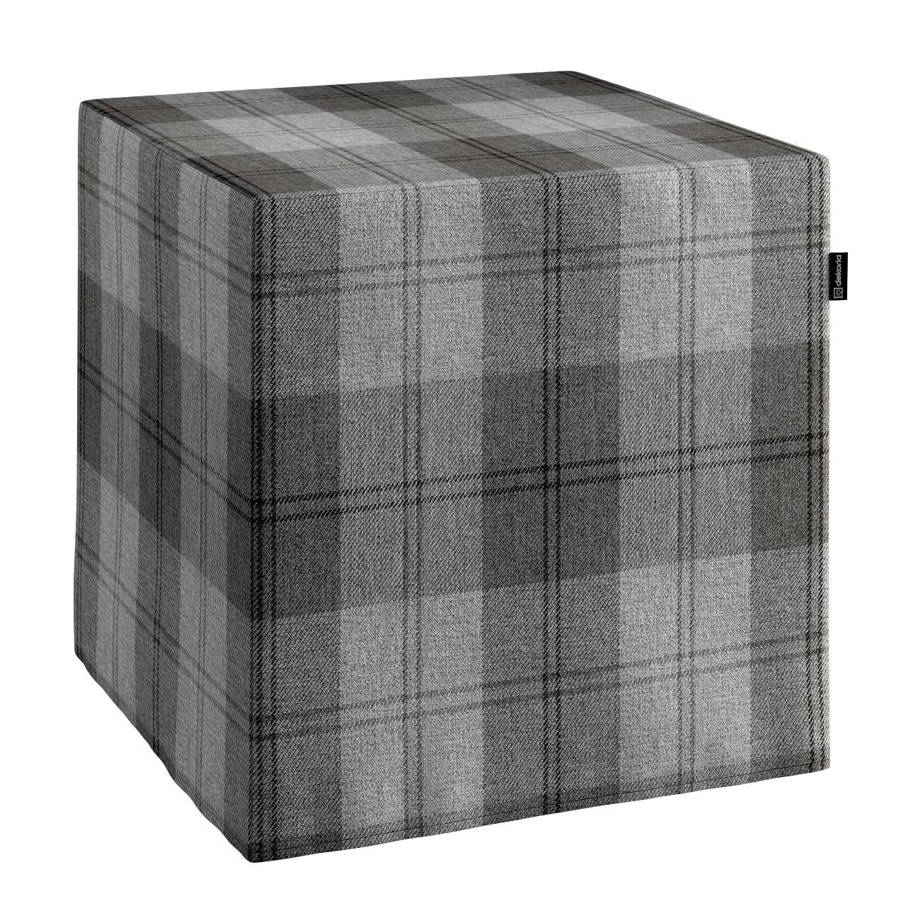 Pufa kostka w kolekcji Edinburgh, tkanina: 115-75