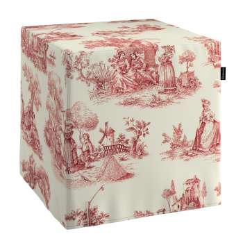 Cube 40 x 40 x 40 cm (16 x 16 x 16 inch) in collection Avinon, fabric: 132-15