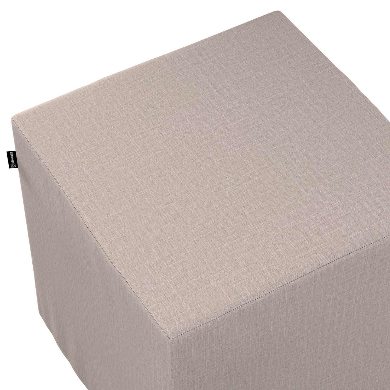Sitzwürfel von der Kollektion Living II, Stoff: 160-85