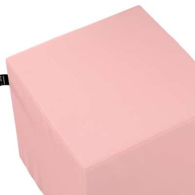 Puf kostka Nano 133-39 pastelowy róż Kolekcja Happiness