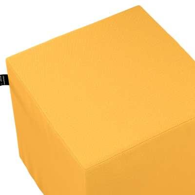 Puf kostka Nano 133-40 słoneczny żółty Kolekcja Happiness