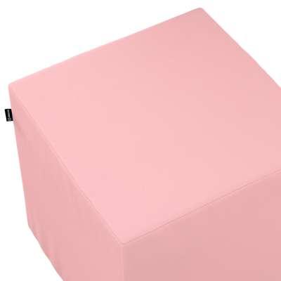 Taburetka tvrdá, kocka 133-39 púdrovo ružová Kolekcia Loneta
