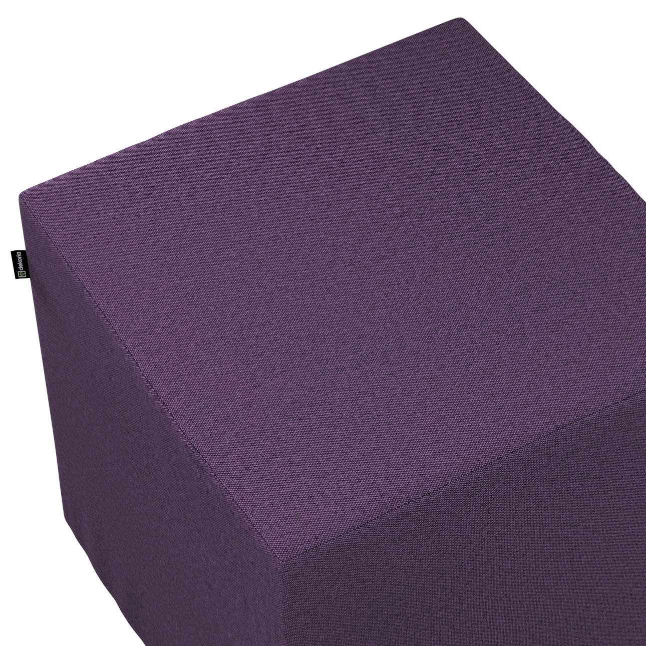 Pufa kostka w kolekcji Etna, tkanina: 161-27