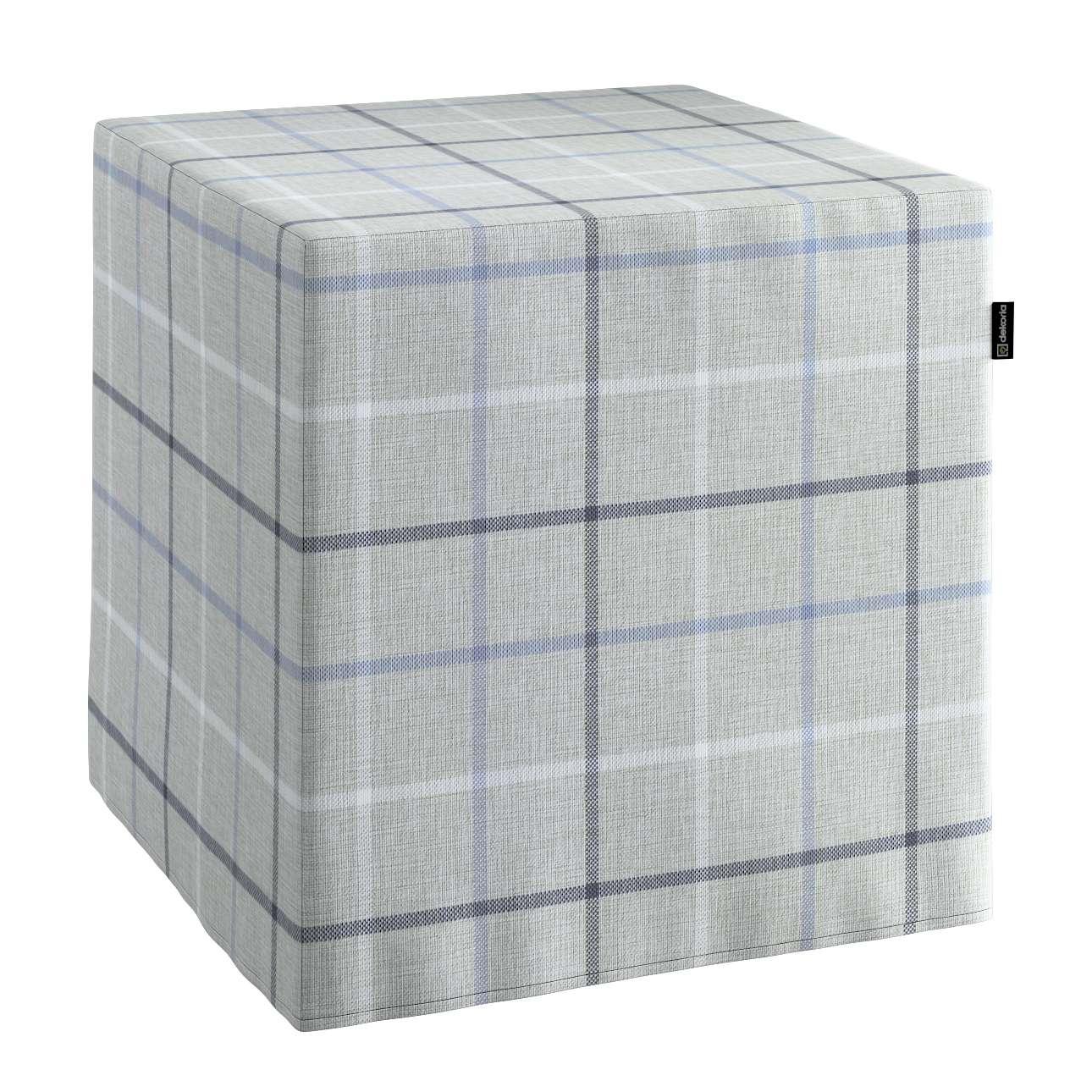 Pufa kostka w kolekcji Edinburgh, tkanina: 703-18