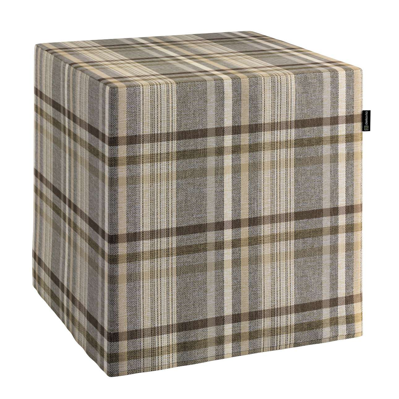 Pufa kostka w kolekcji Edinburgh, tkanina: 703-17