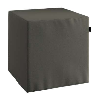 Sedák Cube - kostka pevná 40x40x40 161-55 tmavošedá Kolekce Living