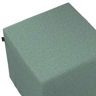 Pouf seat cube 161-89 grey mint blend Collection Madrid