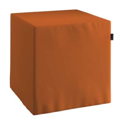 Sedák Cube - kostka pevná 40x40x40 702-42 rudy Kolekce Cotton Panama