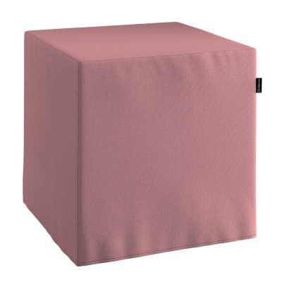 Pouf seat cube 702-43 muted pink Collection Panama Cotton