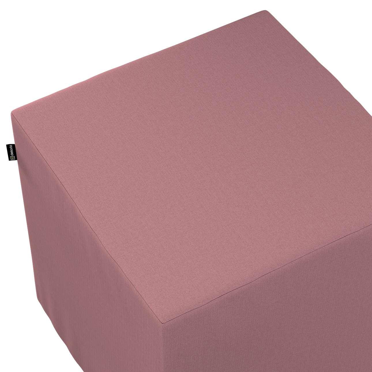 Sitzwürfel von der Kollektion Cotton Panama, Stoff: 702-43