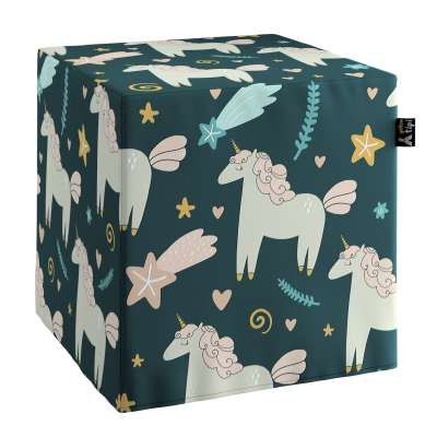 Nano cube pouf 500-43 dark blue Collection Magic Collection