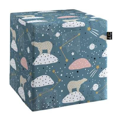 Nano cube pouf 500-45 blue Collection Magic Collection