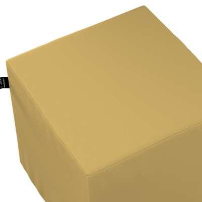 Nano cube pouf 702-41 yellow Collection Cotton Story