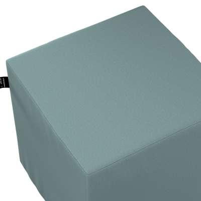 Puf kostka Nano 702-40 eukaliptusowy błękit Kolekcja Cotton Story