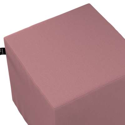 Puf kostka Nano 702-43 zgaszony róż Kolekcja Cotton Story