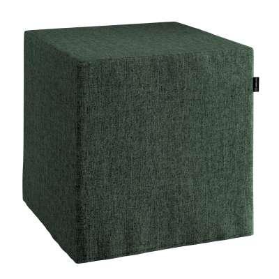 Pufa kostka 704-81 leśna zieleń szenil Kolekcja City