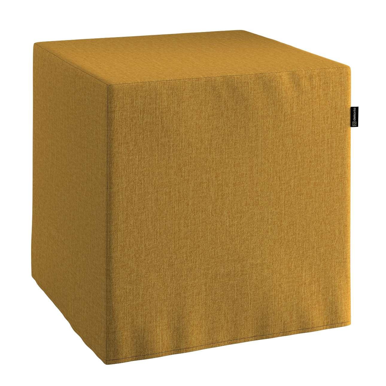 Pufa kostka w kolekcji City, tkanina: 704-82