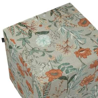 Sitzwürfel von der Kollektion Flowers, Stoff: 143-70