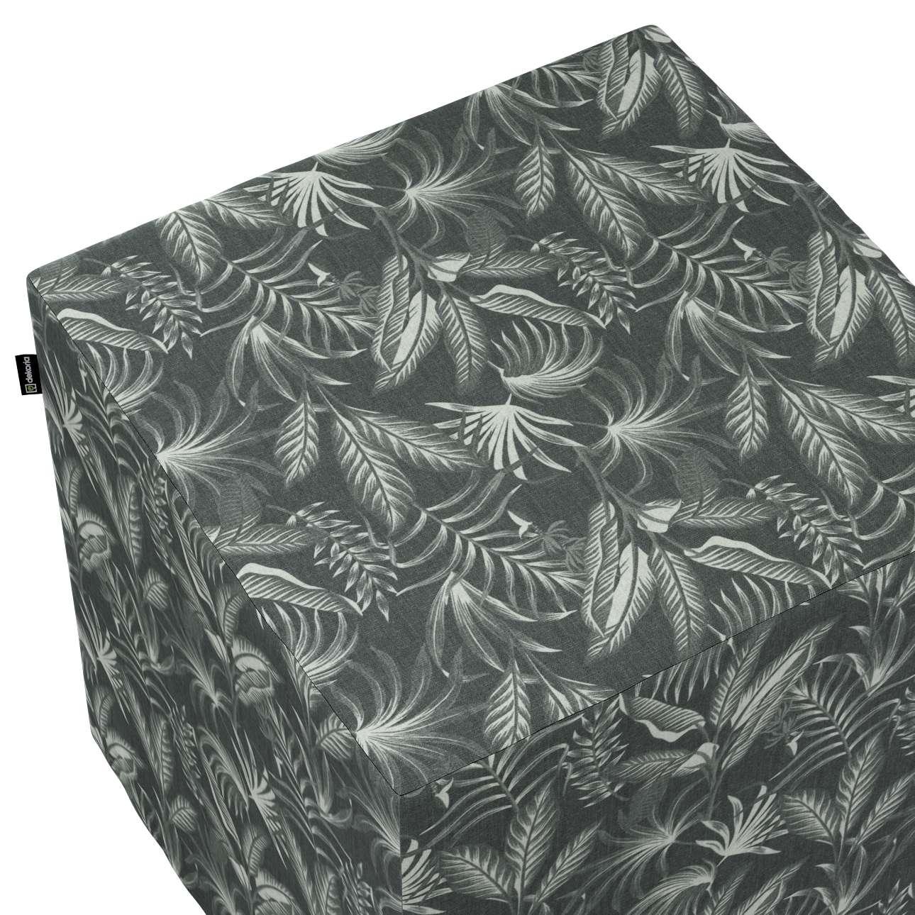 Sitzwürfel von der Kollektion Flowers, Stoff: 143-73