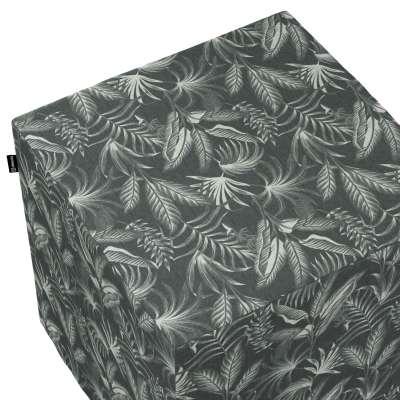 Harde zitkubus 143-73 zwart Collectie Flowers