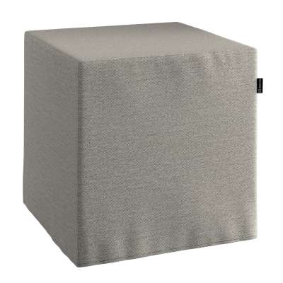 Sedák Cube - kostka pevná 40x40x40 161-91 béžová melanž  Kolekce Madrid