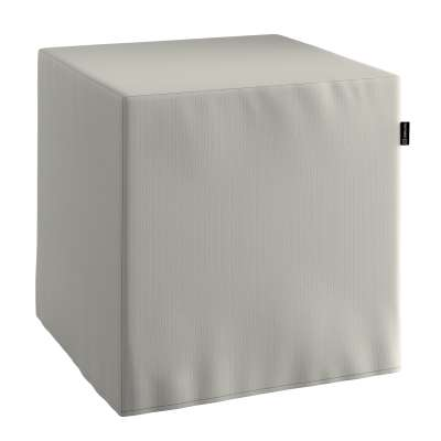 Pouf seat cube 161-54 light grey Collection Living