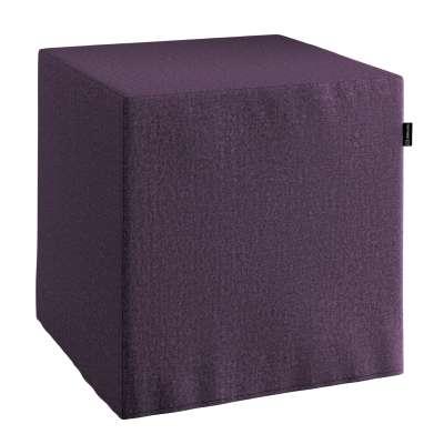 Sedák Cube - kostka pevná 40x40x40 161-67 fialová Kolekce Living