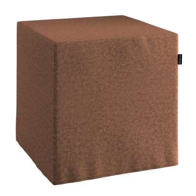Pouf seat cube 161-65 brown chenille Collection Living