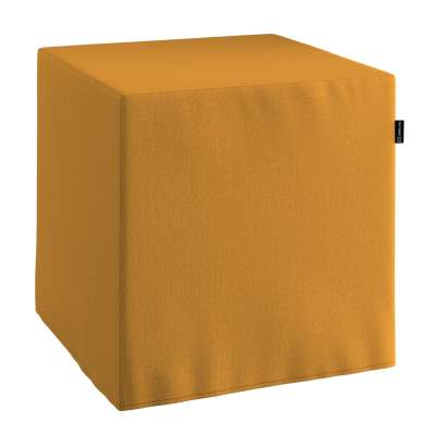 Pouf seat cube 161-64 honey chenille Collection Living