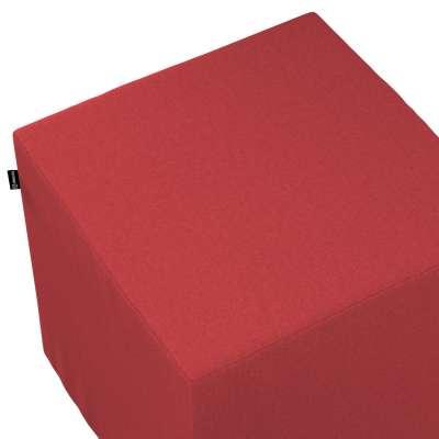 Sedák Cube - kostka pevná 40x40x40 161-56 červená Kolekce Living