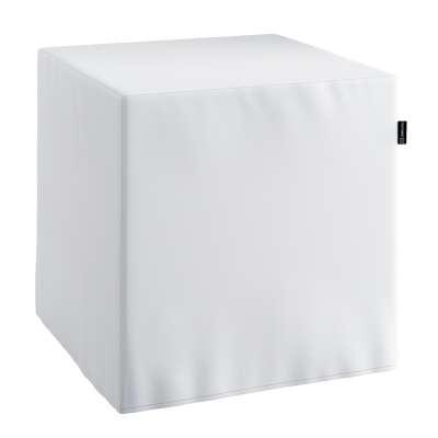 Sedák Cube - kostka pevná 40x40x40 139-00 saténová teplá bílá Kolekce Christmas