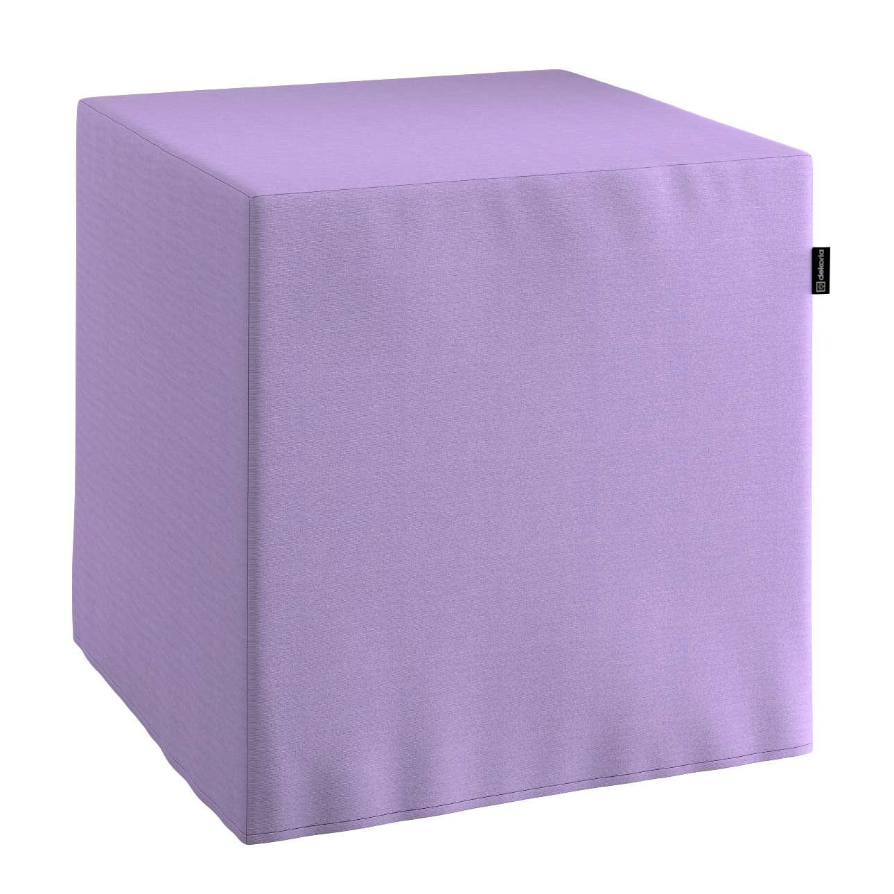 Sedák Cube - kostka pevná 40x40x40 v kolekci Jupiter, látka: 127-74