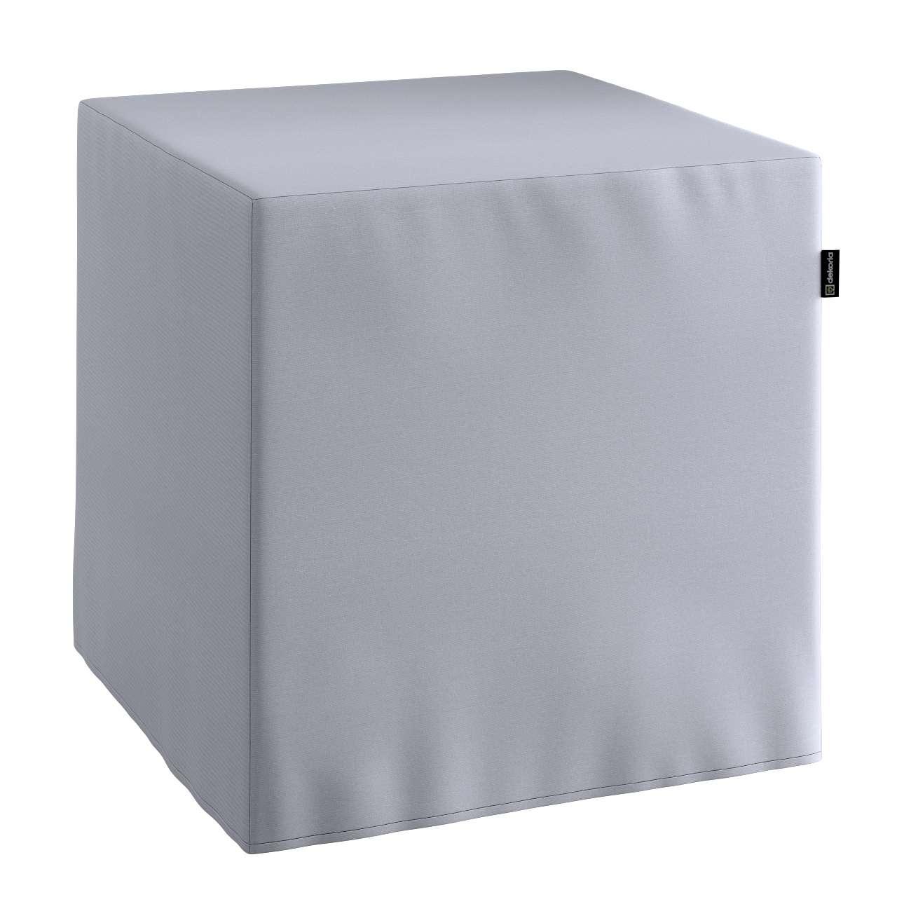 Sedák Cube - kostka pevná 40x40x40 v kolekci Jupiter, látka: 127-92