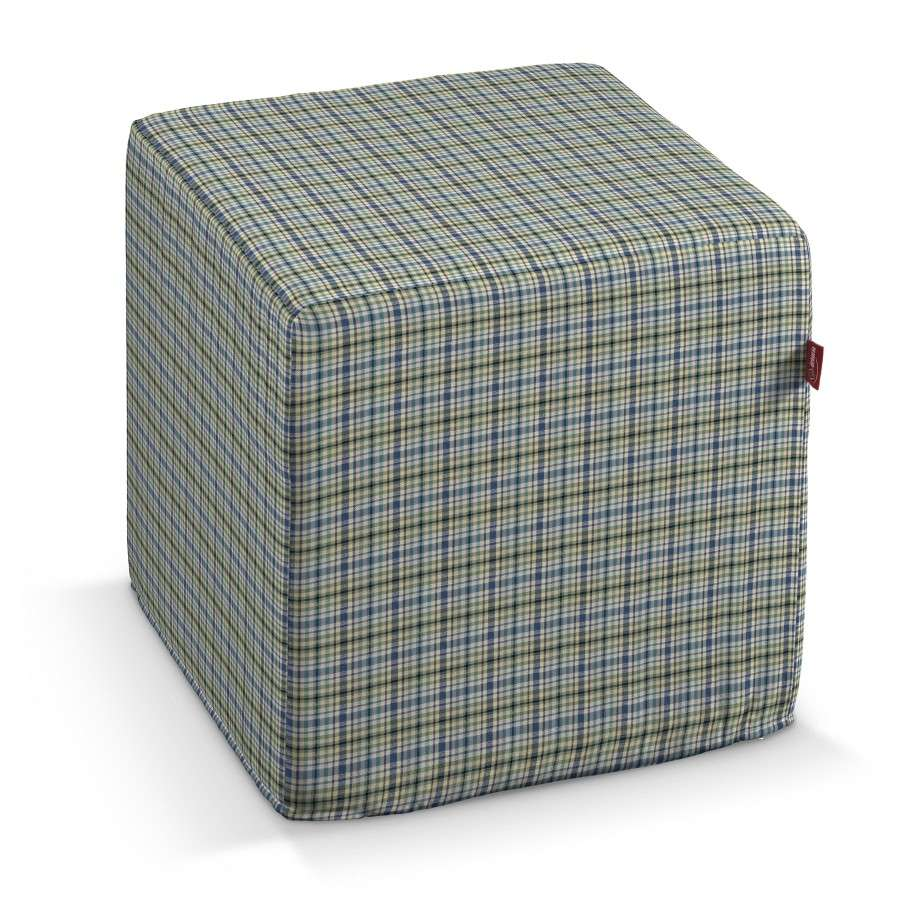 Cube 40 x 40 x 40 cm (16 x 16 x 16 inch) in collection Bristol, fabric: 126-69