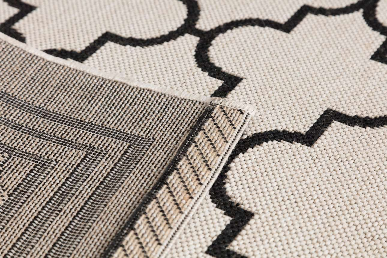 Dywan Cottage wool/ black 160x230cm