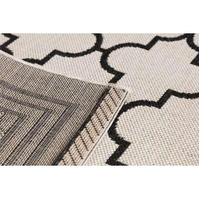 Teppich Cottage wool/ black 160x230cm