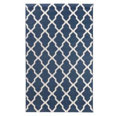 Dywan Cottage blue/ wool 160x230cm